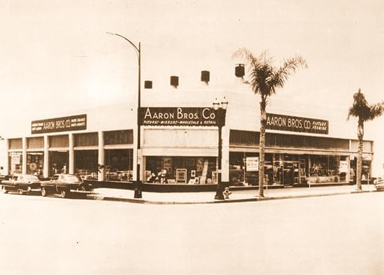 Aaron Brothers original store