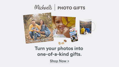 Turn your photos into one-of-a-kind gifts.