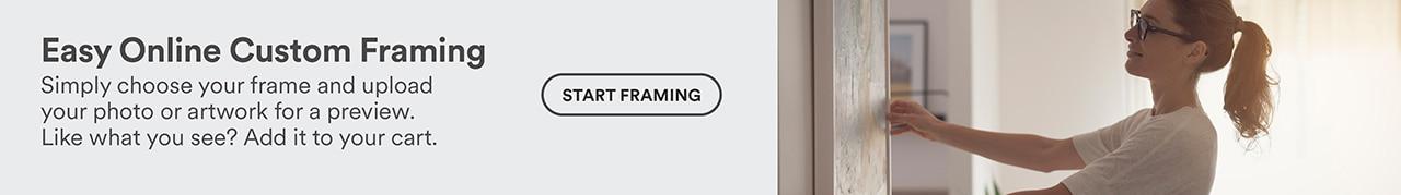 Easy online custom framing